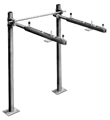 Mifab Mc 41 R Floor Mount Concealed Arm Lavatory Carrier